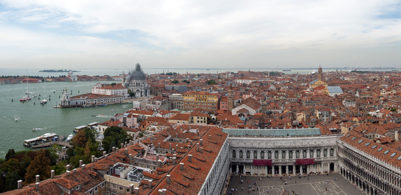 Venice panorama from St Mark campanile